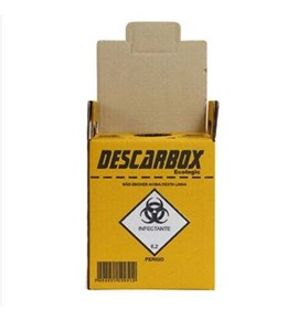 Coletor Perfurocortante Descarbox Ecologic - Descarbox